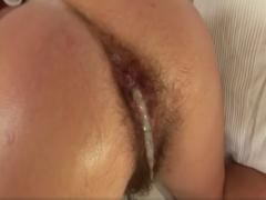 Analsex mit haariger Schlampe