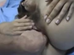 Arschfick mit haarigem Arsch