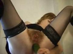 Haarige Omas beim Lesbensex